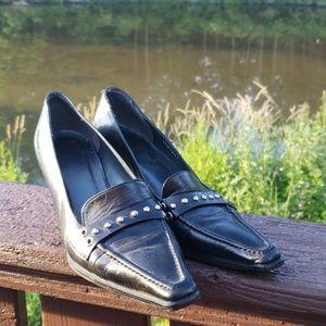 Stuart Weitzman Black Heels sz 7 M